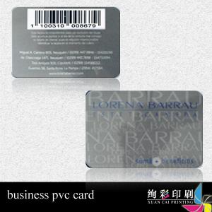 China Magnetic Stripe CMYK Printed Plastic Cards With Signature Panel on sale