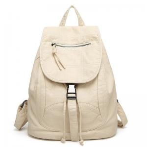... Quality Spring   Summer Fashion Ladies Backpack Washed Leather For Young  Girls for sale 4a81a27ca794b