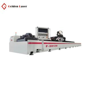 China 1500W P30120 Pipe And Tube Laser Cutting Machine For Heavy Machinery And Steel Structure on sale