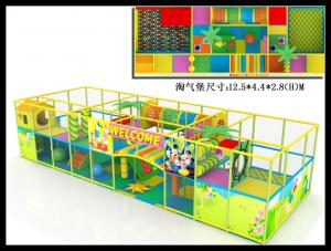 China Plastic Used Commercial Soft Play Indoor Playground Equipment Prices on sale