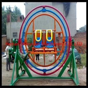 China Selling Amusement Park Rides Human Gyroscope For Sale on sale