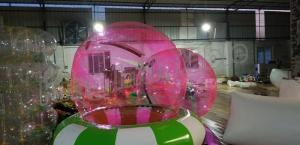 China Children Size Inflatable Walk On Water Ball , Inflatable Hamster Ball on sale