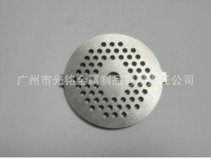 China Powder Metallurgy Meat Grinder Plate Hole Dimeter 3mm High Performance on sale