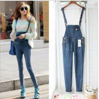 Casual Womens Fashion Overalls , Spring Fashion Ladies Jeans Sexy Skinny Denim Pants