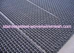 Crimped Carbon Steel Wire Mesh Square Aperture And Round Wire In Sheet High Tensile
