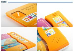 China Customized  Audio sound music book printing , kids music book colorful on sale