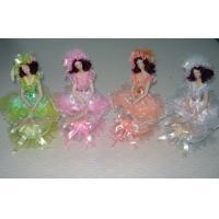 10 Inch Porcelain Doll Music Box / Victorian Porcelain Doll