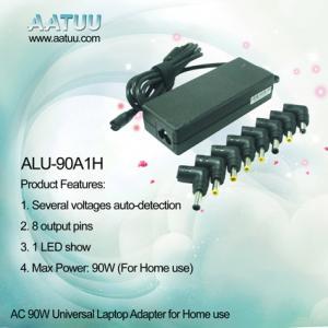 China Automatiquement l'adaptateur universel à C.A. du carnet 90W avec 8 a produit les goupilles - ALU-90A1H on sale