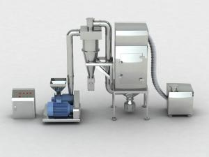 China Herbs Medicine Dust Collecting YF Pulverizer Machine With Air Cooling on sale