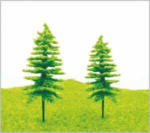 China S52AG / S51BG OO Scale Train Track Layout Miniature Model Christmas Pine 11cm / 9cm on sale