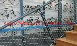 ... Quality Stainless Steel Rope Mesh For Floor / Stainless Steel Rope  Floor Mesh/stair Wire ...