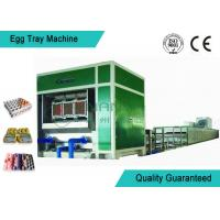 3000 Pcs/H Paper Egg Tray Making Machine / Automatic Egg Tray Machinery