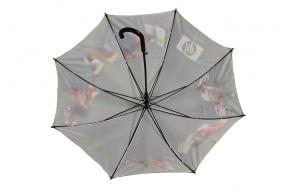 China 23 Inch Luxury Fashion Rain Umbrellas With Family Picture Printing Stick on sale