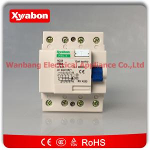 China abb residual current circuit breaker (rccb) 4 POLE 63A/30mA F364-63/0.03 on sale
