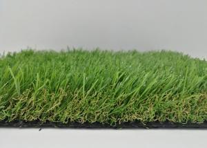 China Waterproof Artificial Grass Outdoor Carpet , Smooth Beautiful Pet Friendly Artificial Grass on sale