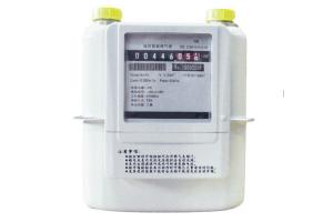China G1.6 / G2.5 / G4 Wireless Smart Meters , LoRaWAN Smart Gas Meter With Module on sale