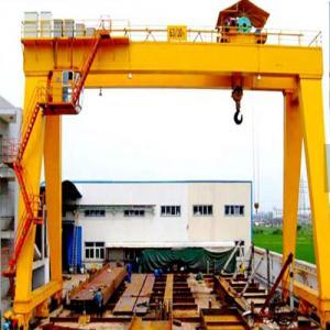 China Heavy duty lifting equipment double girder gantry crane 50 ton Heavy Duty Electric Double Girder Gantry Crane on sale