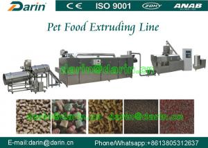 China Automatic Pet Food Extruder Machine / jam Center Pet Feed Pellet Extruder Equipment on sale