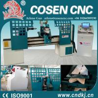 auto quick change tool post on CNC WOOD LATHE MACHINE for your convenience