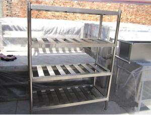 China Collapsible Truck Tyre Stainless Steel Storage Metal Shelves For Warehouse Rack Systems on sale