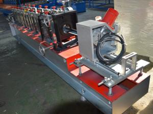 China 12-15m/min Chain Drive Storage Rack  Support Upright Making  Machine / Pallet Rack Making Machine Customized on sale