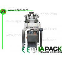 5.5 KW Nuts Premade Pouch Packing Machine Zipper Packaging Sealing