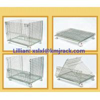 China Customized Warehouse Folding Steel Wire Mesh Container