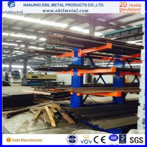 China Single or double face Cantilever Racking for Long Steel Material Storage on sale