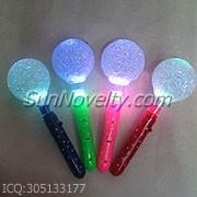 China Blue, Green, Red, Pink Light-up Multi Colors Ball Wand / Flashing Wands For Decration on sale