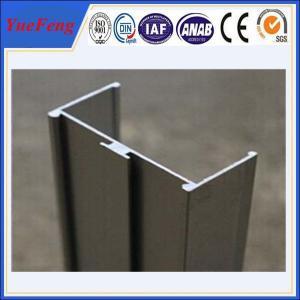 Quality Aluminium extrusion for wardrobe/cabinet/window and door,aluminium profile furniture for sale