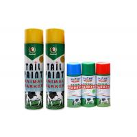 China Animal Tail Aerosol Spray Paint No Harm To Skin For Cattle / Sheep / Livestock / Marking on sale
