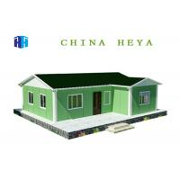 Modern Csteel Frame Modular Homes , 3 Bedroom 1 Bath Mobile Home Energy Saving