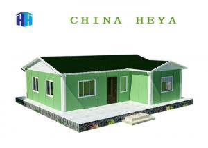 China Modern Csteel Frame Modular Homes , 3 Bedroom 1 Bath Mobile Home Energy Saving on sale