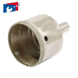 China 40mm Diamond Hole Saw , Diamond Coated Hole Saw Apply To Stone Ceramic on sale