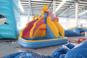 China High Quality Cool Large water inflatable slide on sale