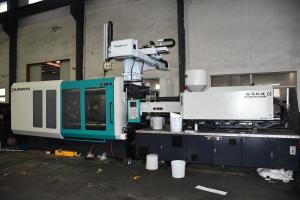 China Automatic Injection Molder Machine Molding Label System For Plastic Bucket IML on sale
