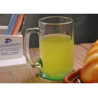 China 14oz Water Glass Tumbler , beer / juice / milk clear drinking glasses on sale