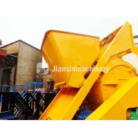 New type high quality widely used js500 self loading concrete mixer for sale