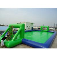 Customized Chilren Inflatable Sports Games , Inflatable Soccer Field For Kids