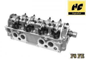 China Stable Mazda F8 FE F8510100F/ FE7010100F/913 0281 Diesel Engine Cylinder Head Cast Iron / Aluminum Material on sale