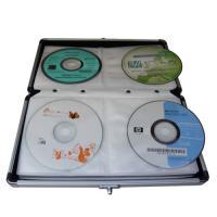 China Custom Silver Aluminum CD DVD Storage Case on sale