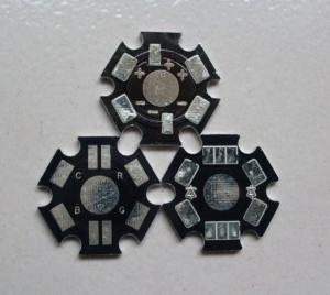 China Round LED PCB Boards with Aluminium pcb printed circuit board fabrication 0.1mm(4mil) on sale