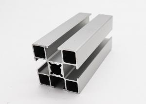 China 8 Mm Width T Slot Aluminium Profile 40X40 Wooden Grain Apply To Machinery Guard on sale
