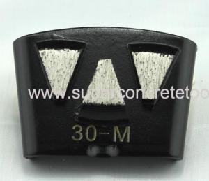 China Quick Change Concrete Grinding Segment on sale