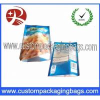 China Three Side Sealed PA Nylon Laminated Food Grade Plastic Bags For Frozen Food Packing on sale