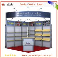 China 3m × 3m Resuable Portable Tradeshow Booths Customized Digital printing on sale