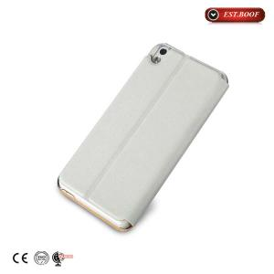 China Premium Htc White Flip Phone Cases Pu Leather Ultra Thin Shock Resistant on sale