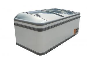 China Supermarket 800 liter Deep Frozen Combined Island Freezers With 220V/110V Plug In on sale