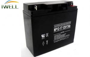 China Maintenance Free Gel Battery 12V 17Ah For UPS Backup System on sale