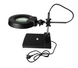 China ESD Safe Fluorescent Illuminated Magnifying Lamp Desktop Lens T9 22 Watt on sale